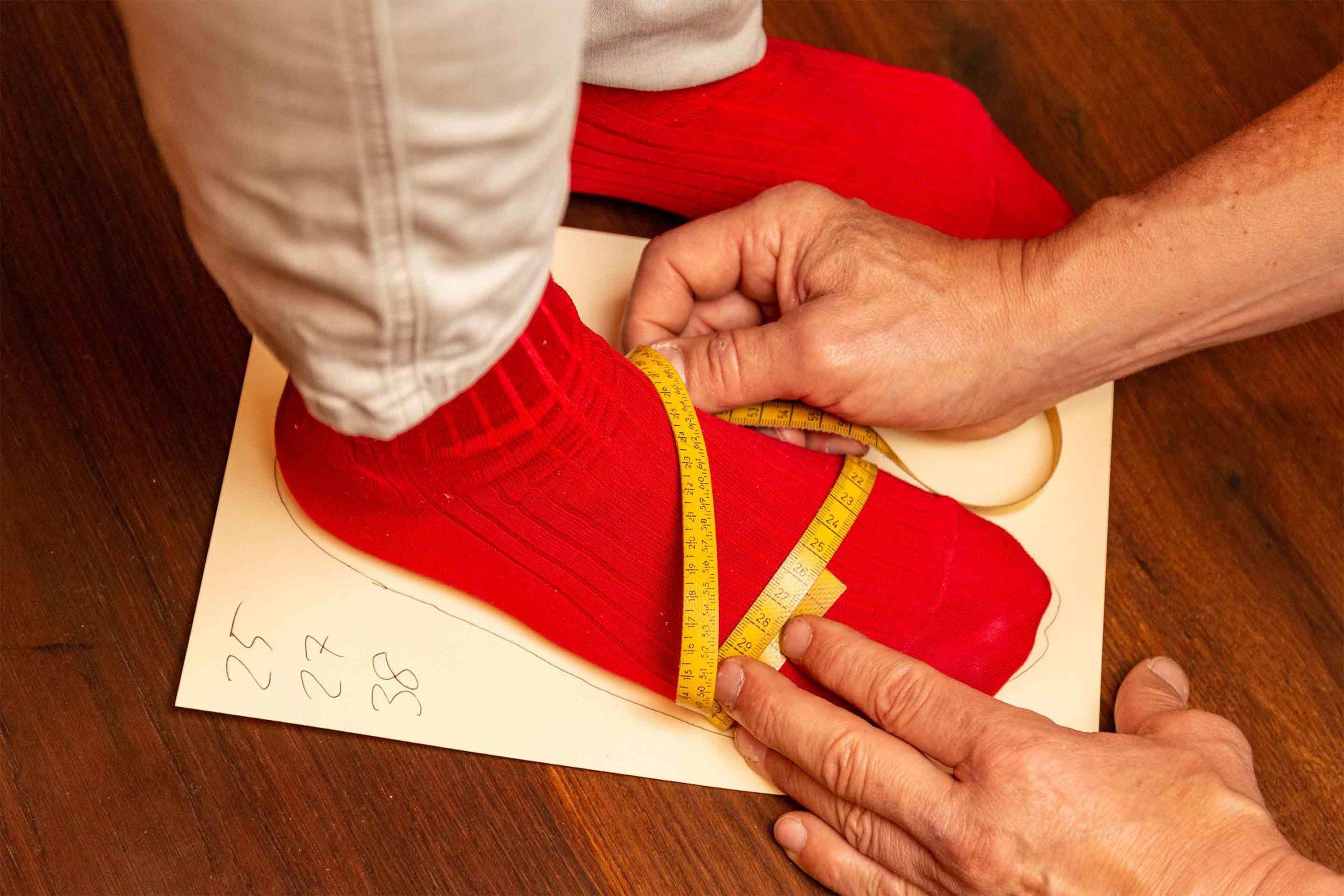 Schuhe Maßnehmen